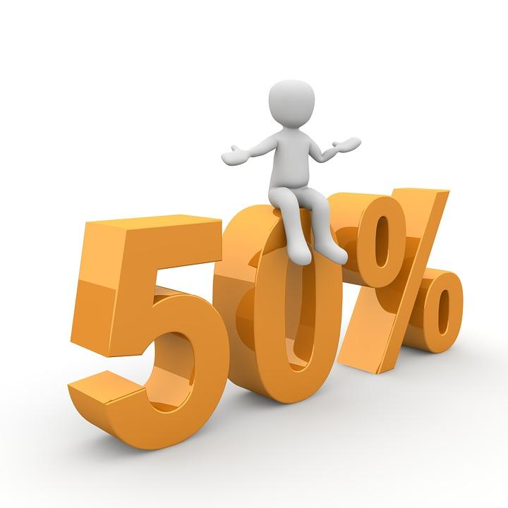 REA 50%